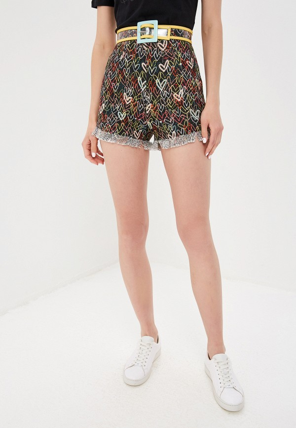 женские повседневные шорты elisabetta franchi, разноцветные