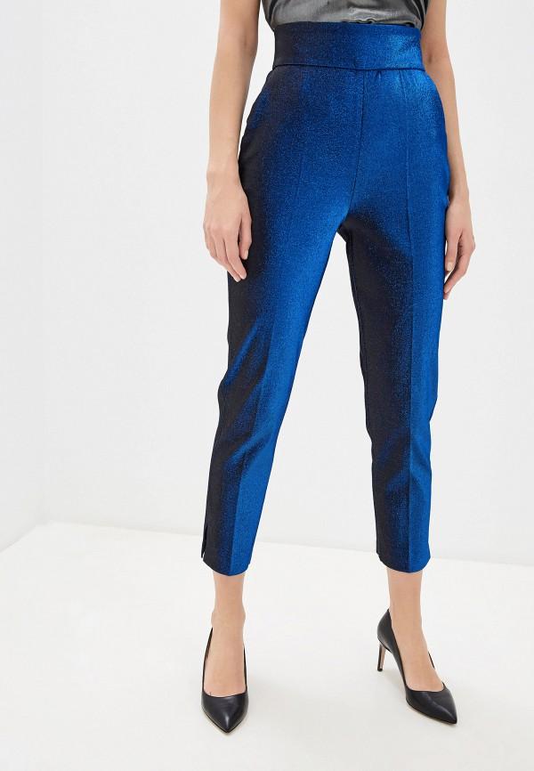 женские классические брюки elisabetta franchi, синие