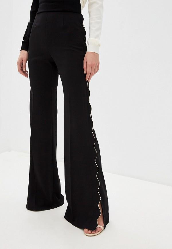 женские классические брюки elisabetta franchi, черные
