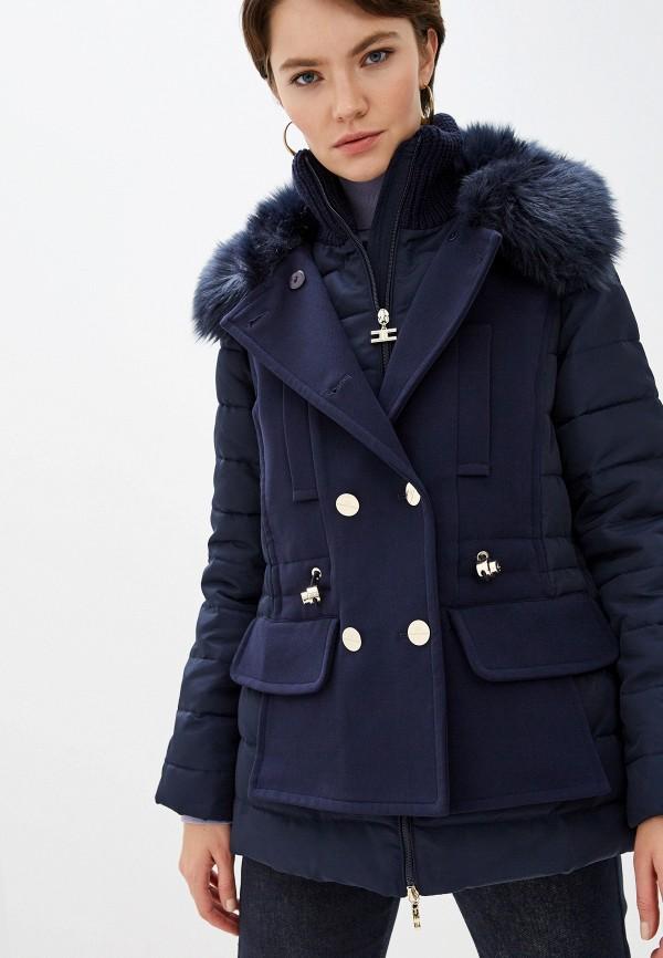купить Куртка утепленная Elisabetta Franchi Elisabetta Franchi EL037EWFMKL9 дешево