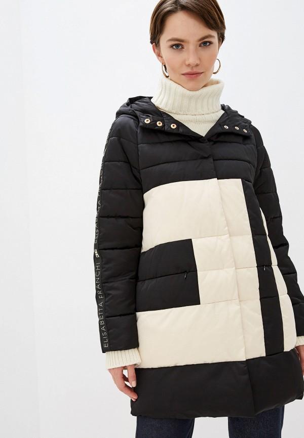 купить Куртка утепленная Elisabetta Franchi Elisabetta Franchi EL037EWFMKP7 дешево
