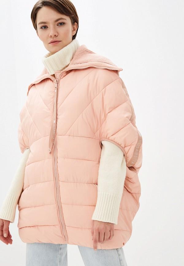 купить Куртка утепленная Elisabetta Franchi Elisabetta Franchi EL037EWFMKP9 дешево