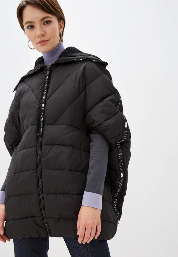 купить Куртка утепленная Elisabetta Franchi Elisabetta Franchi EL037EWFMKQ0 дешево
