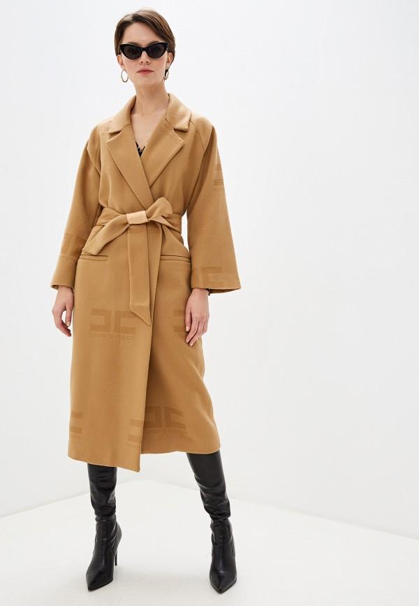 Пальто Elisabetta Franchi Elisabetta Franchi EL037EWFMKQ3 elisabetta franchi легкое пальто
