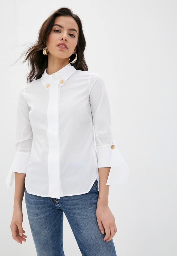 женская блузка elisabetta franchi, белая