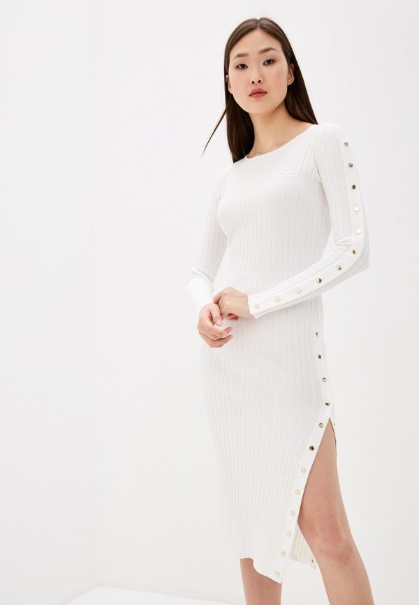женское повседневные платье elisabetta franchi, белое