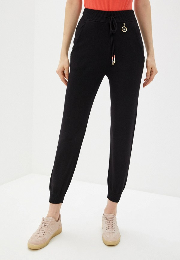 женские брюки elisabetta franchi, черные