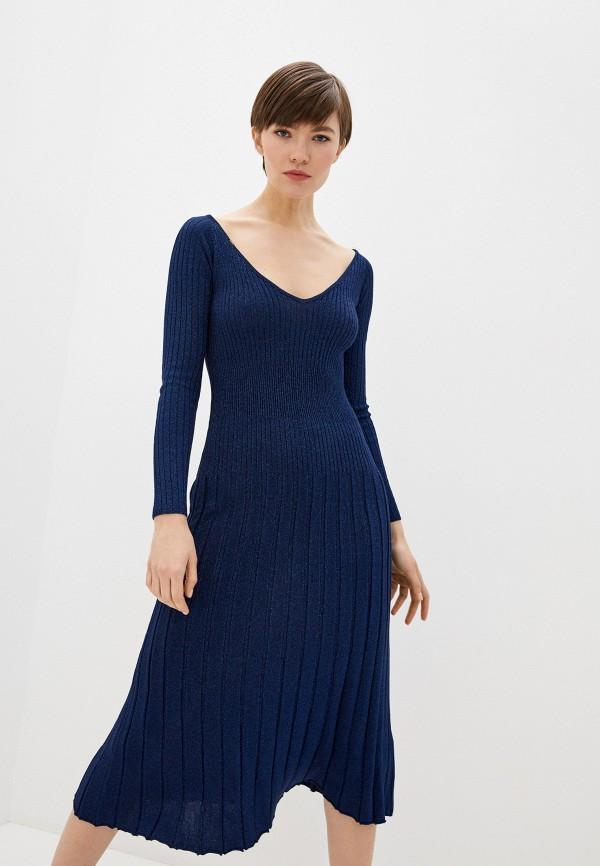 женское платье elisabetta franchi, синее