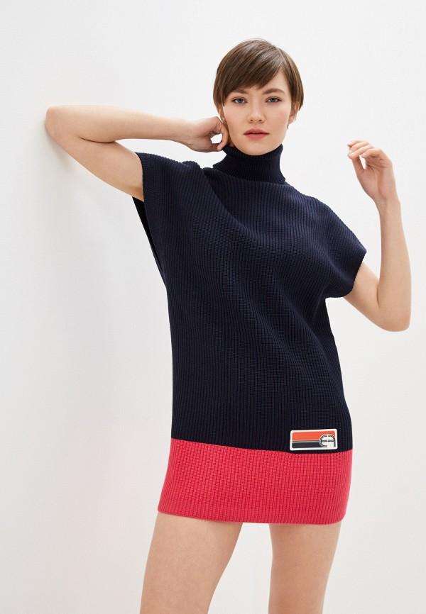 женский свитер elisabetta franchi, синий