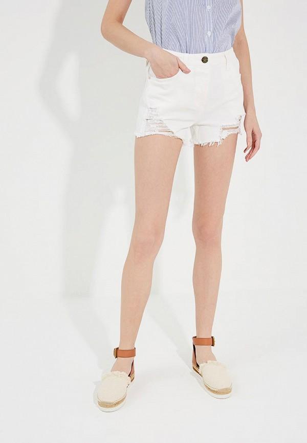 Шорты джинсовые Elisabetta Franchi Elisabetta Franchi EL037EWYRY39 куртка утепленная elisabetta franchi elisabetta franchi el037ewucw33