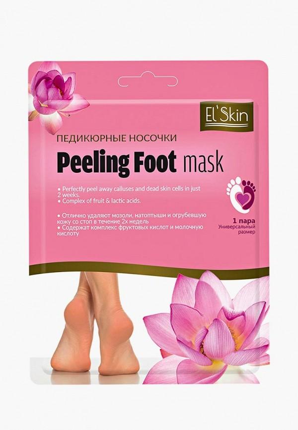 Купить Маска для ног El'Skin, Педикюрные, 1 пара, el042lwboby3, розовый, Весна-лето 2019