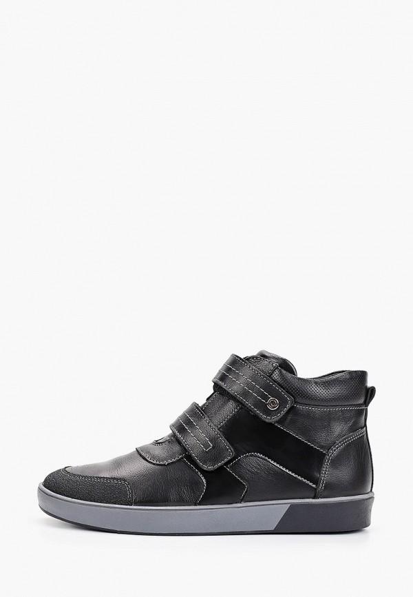 ботинки elegami для мальчика, черные