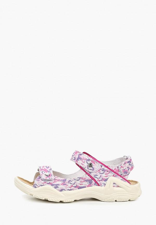 сандалии elegami для девочки, разноцветные