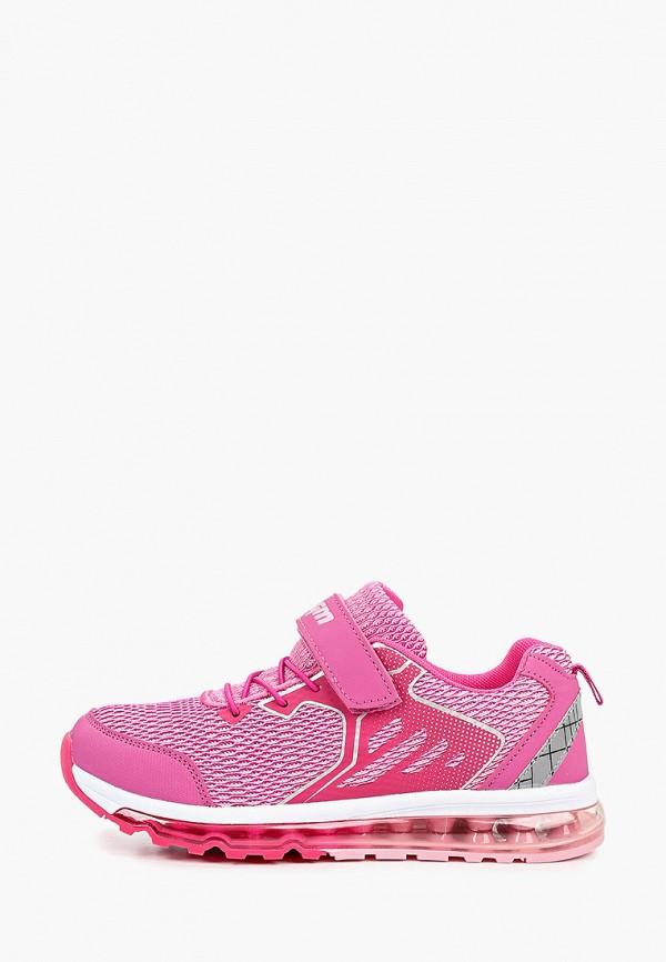 кроссовки elegami для девочки, розовые