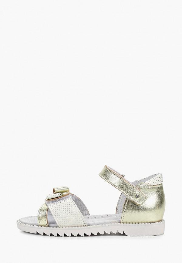 сандалии elegami для девочки, золотые