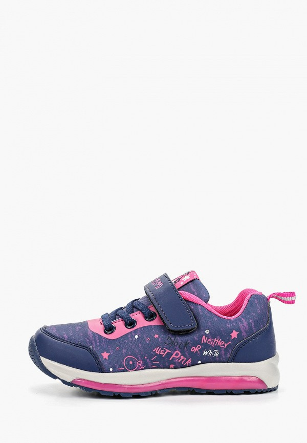 кроссовки elegami для девочки, синие