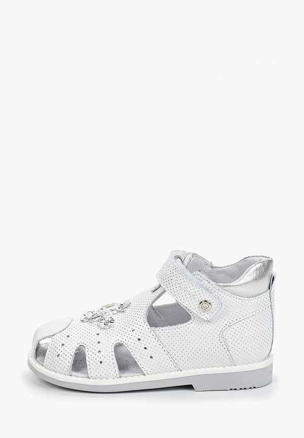 сандалии elegami для девочки, белые
