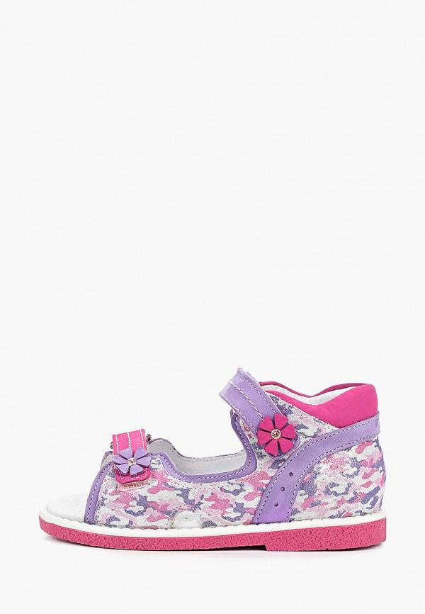сандалии elegami для девочки, фиолетовые