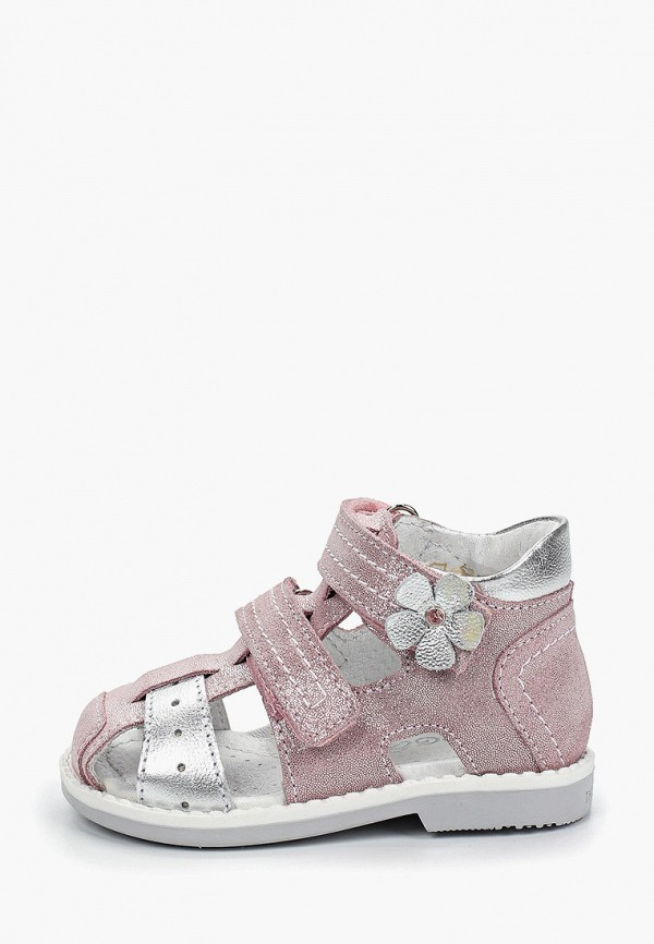 сандалии elegami для девочки, розовые