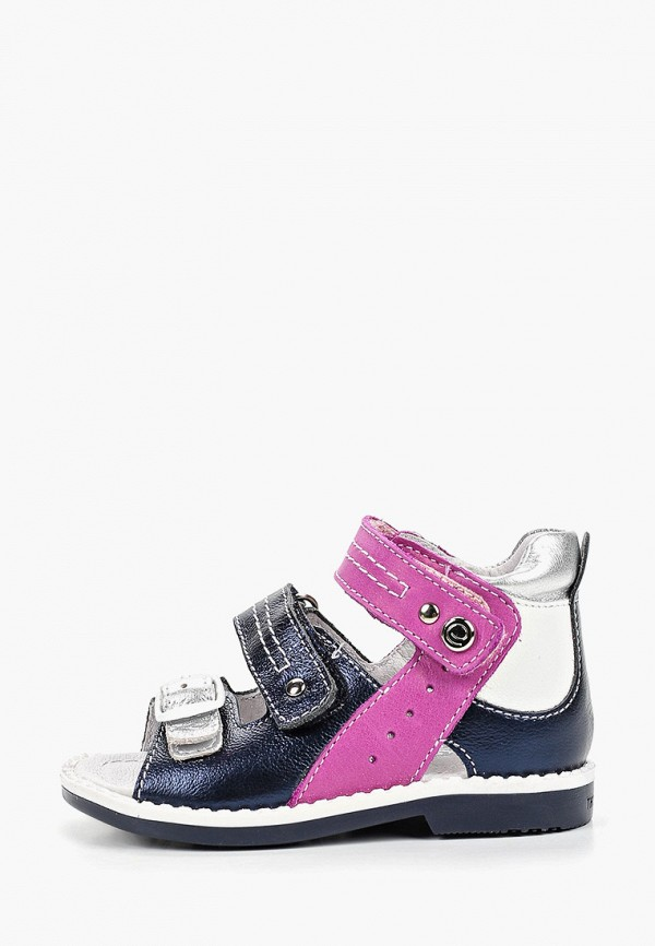 сандалии elegami для девочки, синие