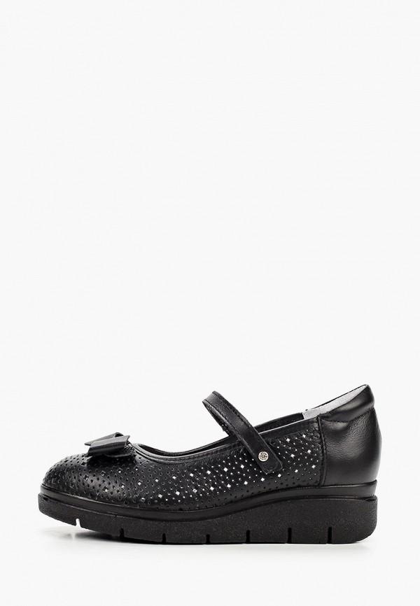 туфли elegami для девочки, черные