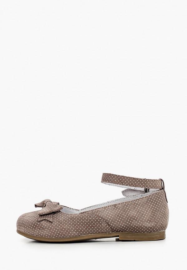 туфли elegami для девочки, бежевые