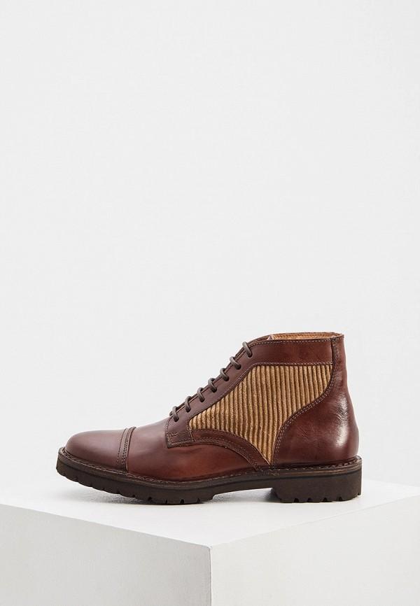 мужские ботинки eleventy, коричневые