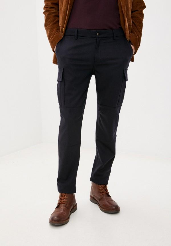 мужские брюки карго eleventy, синие