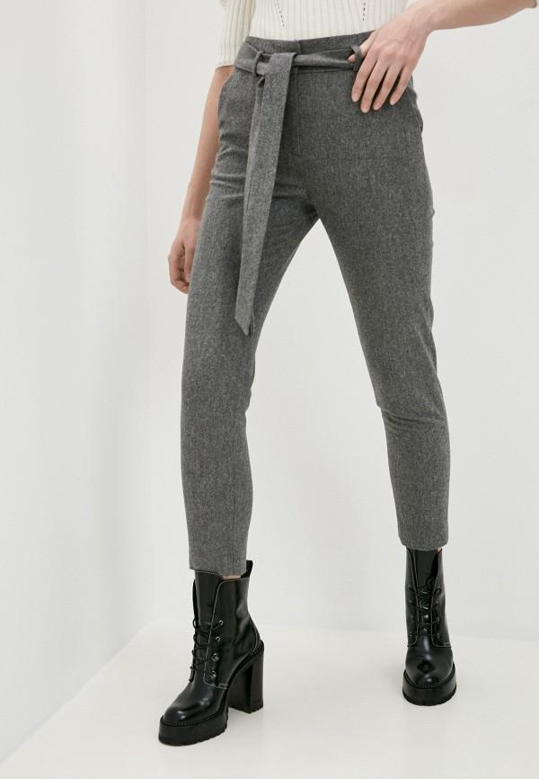 женские повседневные брюки eleventy, серые