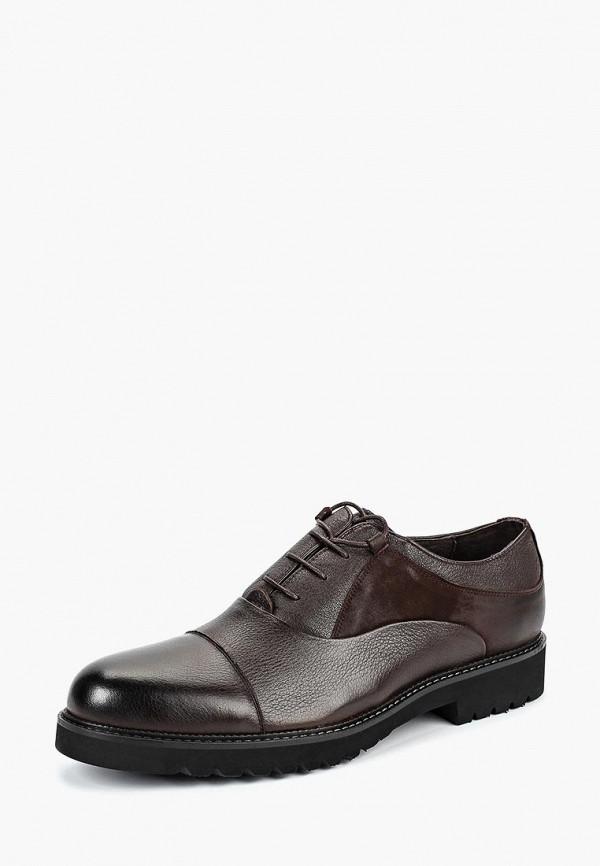 мужские туфли el tempo, коричневые