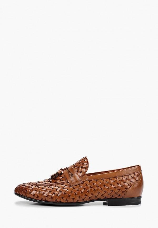 мужские лоферы el tempo, коричневые