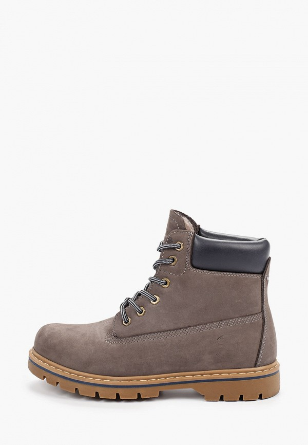 мужские ботинки el tempo, серые