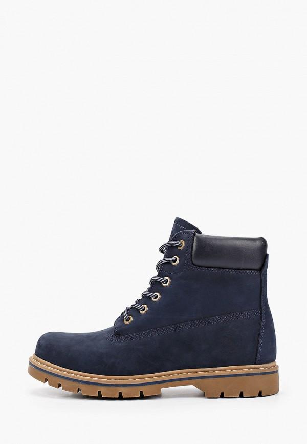 мужские высокие ботинки el tempo, синие