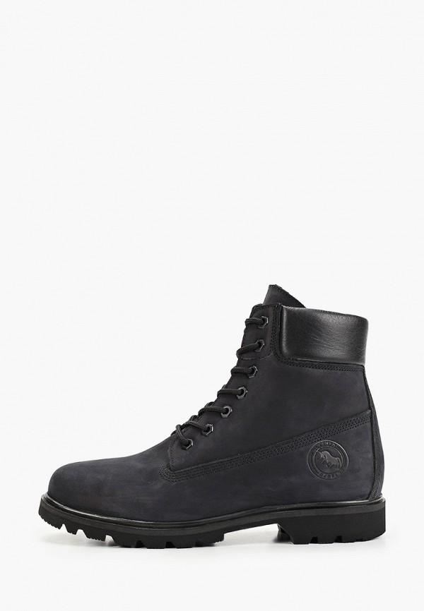 мужские высокие ботинки el tempo, черные