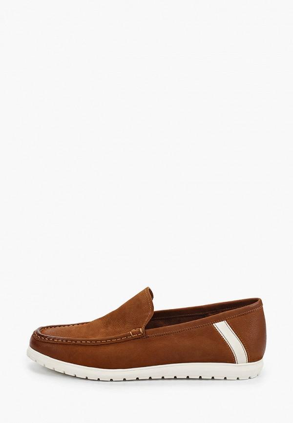 мужские мокасины el tempo, коричневые
