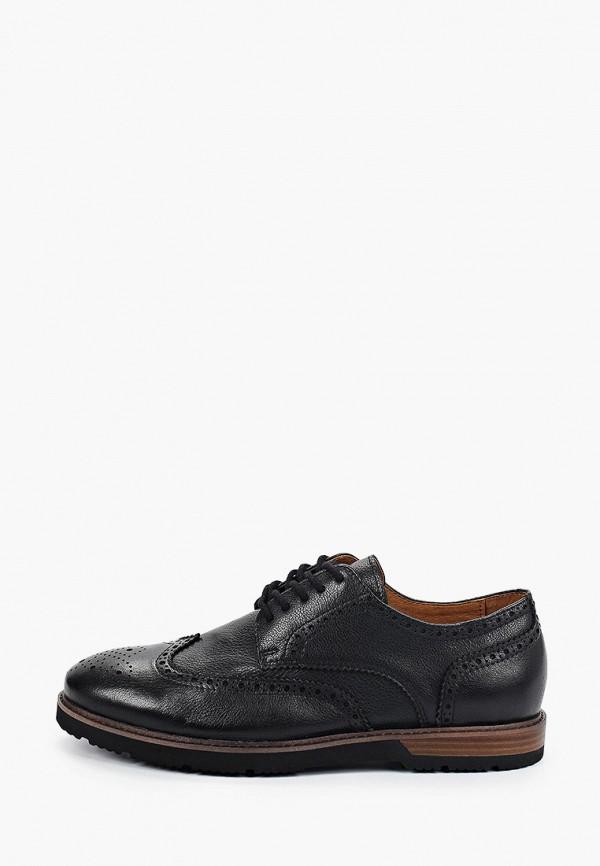 мужские туфли-дерби el tempo, черные