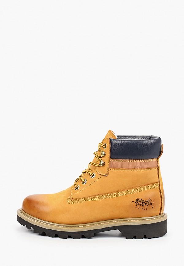 мужские ботинки el tempo, желтые