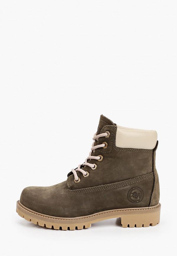 женские ботинки el tempo, зеленые