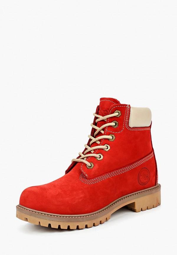 женские ботинки el tempo, красные