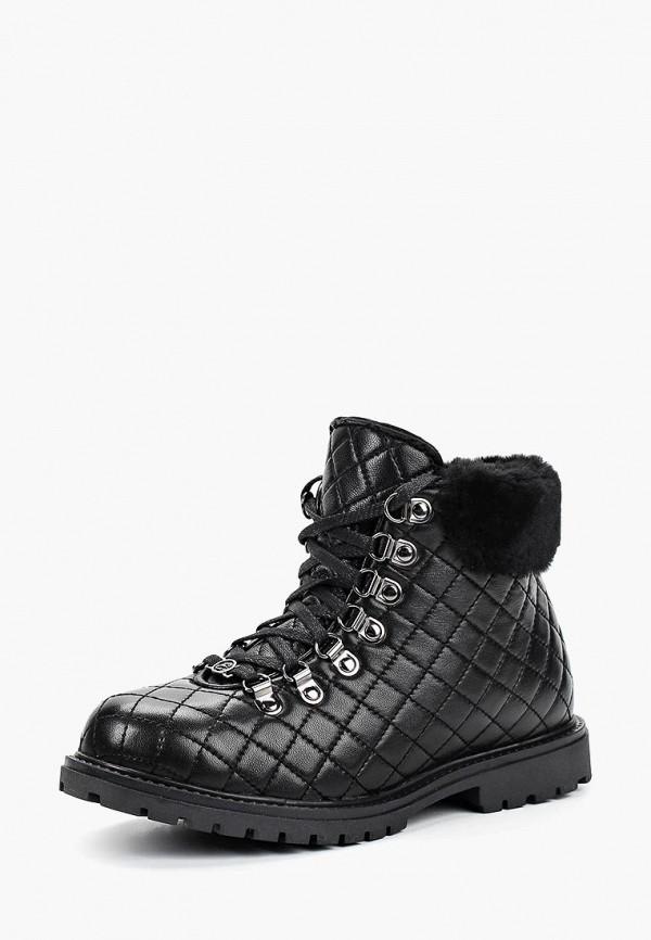 женские высокие ботинки el tempo, черные