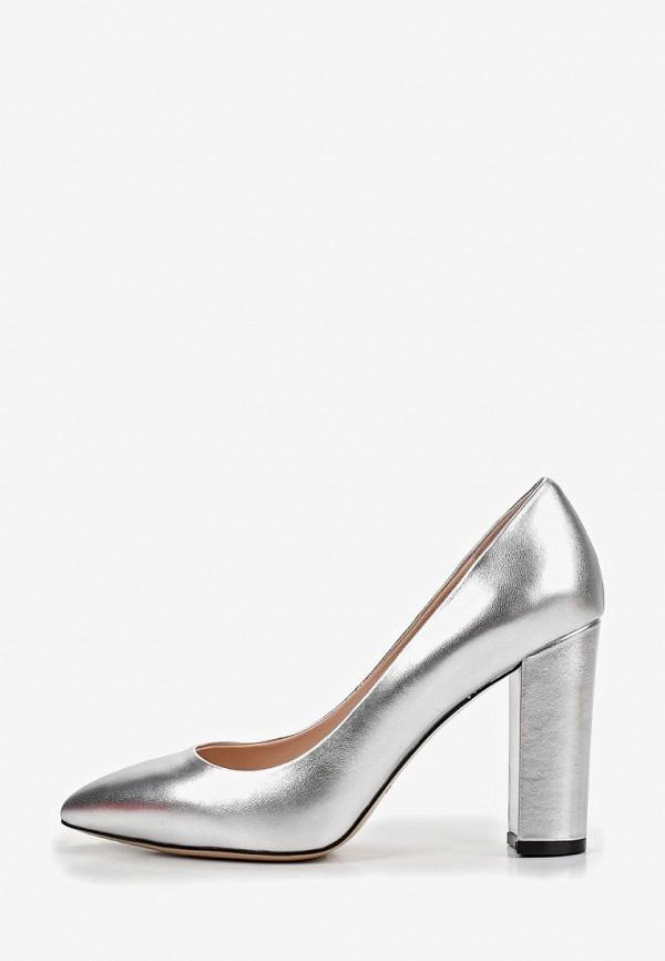 женские туфли el tempo, серебряные