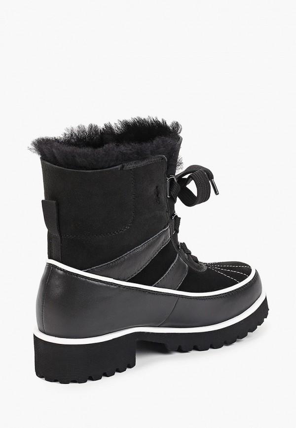 Фото 3 - женские ботинки и полуботинки El Tempo черного цвета