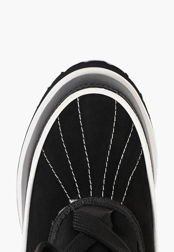 Фото 4 - женские ботинки и полуботинки El Tempo черного цвета