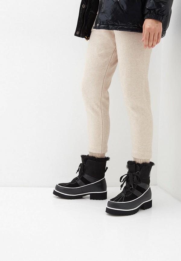 Фото 7 - женские ботинки и полуботинки El Tempo черного цвета
