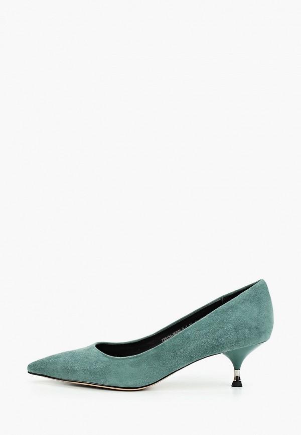 женские туфли el tempo, зеленые