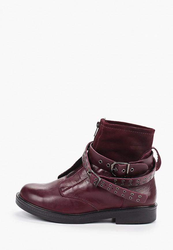женские высокие ботинки el tempo, фиолетовые