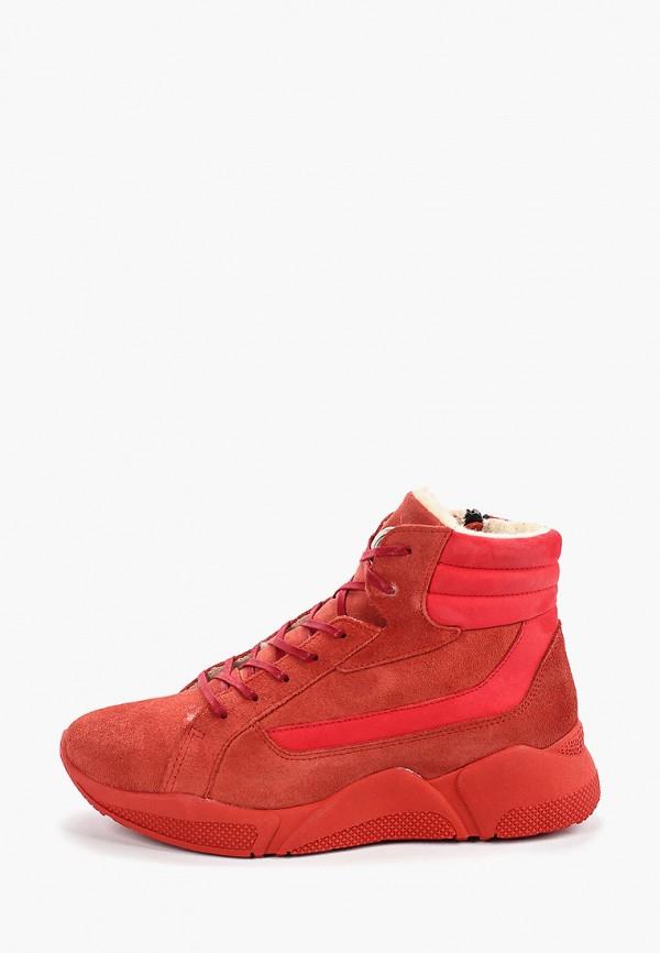 женские кроссовки el tempo, красные