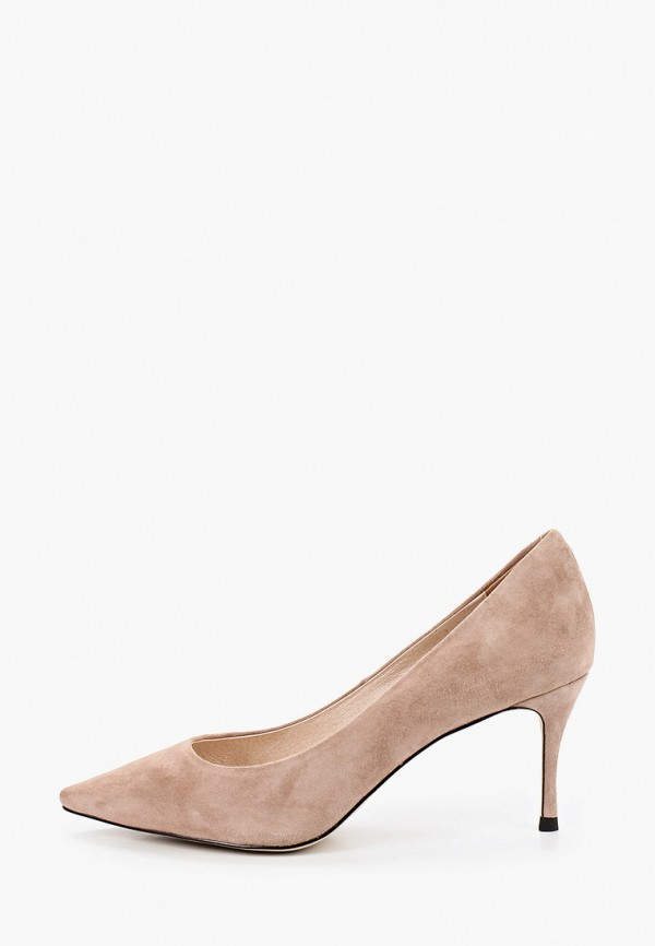 женские туфли-лодочки el tempo, бежевые