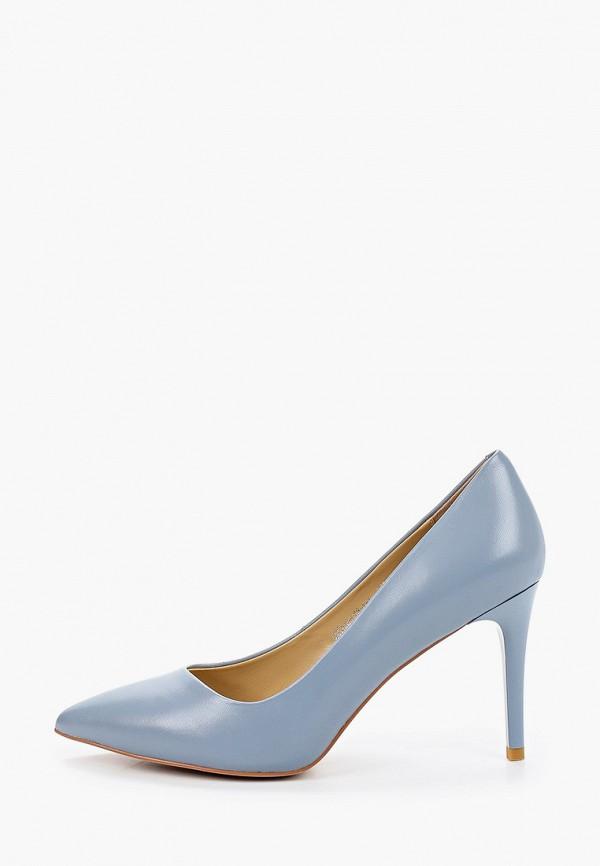 женские туфли-лодочки el tempo, голубые