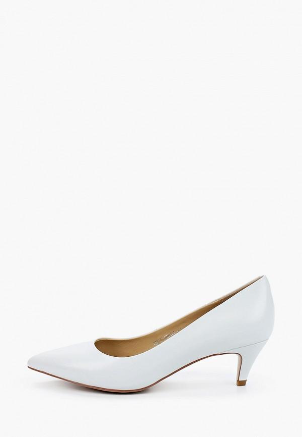 женские туфли с закрытым носом el tempo, белые